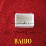 Barco cerámica alúmina crisoles para Hornos de laboratorio