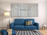 Albero decorativo moderno Handmade delle pitture su tela di canapa per la decorazione domestica