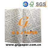Бумага напечатанная высоким качеством просвечивающая для оборачивать еды