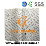 Impreso de alta calidad papel translúcido para envolver alimentos
