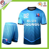 Le football en bloc neuf Jersey du modèle 2017 et chemises neuves du football d'OEM avec le football Jersey de sublimation
