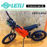 Scheibenbremse Spoked Rad-elektrisches Motorrad 8000W
