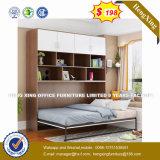 Мебель с одной спальней тип старинной европейской цельной древесины двойная кровать (HX-8NR0880)