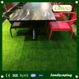 4つのカラー泥炭の芝生の景色の装飾の人工的な草