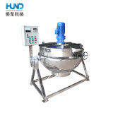 Aço inoxidável Revestimento duplo de aquecimento eléctrico chaleira para sopa