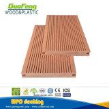 Plancher solide imperméable à l'eau extérieur de /Garden WPC de Decking de WPC