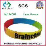 Imprint da promoção seu logotipo na faixa de pulso plástica da oferta