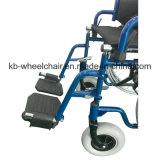 Fauteuil roulant manuel en acier pliable et handicapé
