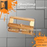 Maniglia unica della serratura di portello dello zinco degli accessori della finestra e del portello, serratura di finestra di scivolamento