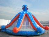 Obstacle Caslte gonflable, videurs gonflables (B1017) de poulpe
