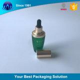 L'olio di oliva di ceramica imbottiglia la bottiglia di olio essenziale all'ingrosso di vetro 30ml con i campioni liberi del contagoccia
