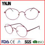 Способа женщин рамки Ynjn рамка Eyeglasses красного круговая (YJ-J6988)