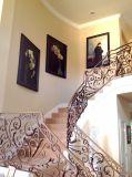 De met de hand gemaakte Olieverfschilderijen van de Bloem van de Orchidee rekten het BloemenArt. van het Canvas uit