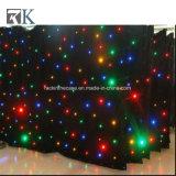 LEDの空のコンサートのイベントのためのきらめく星のカーテンは飾る