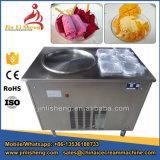 Macchina fritta del gelato della vaschetta