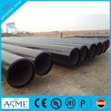Tubo d'acciaio della pittura nera laminata a caldo della Cina