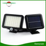Capteur de mouvement infrarouge de plein air Split mur solaire de jardin light 56 LED