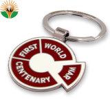 Personnalisé de haute qualité de l'émail logo cheap cheval Collège de l'anneau de clé