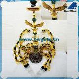 Bw1-090 le narguilé en verre de Shisha de narguilé de l'art le plus chaud