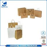 Papier de haute qualité recyclables Brown un sac de shopping