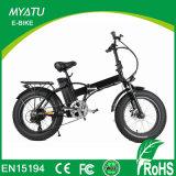 20inch bici piegante della neve E con la bici del grasso della Gomma-Myatu dei 4.0 grassi