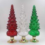 0.5L一義的なクリスマスツリー形によって塗られるカラーウォッカのガラスビン