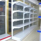 Alambre que deja de lado estante de visualización lateral del acoplamiento de la tienda al por menor el solo