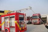 전문화된 차량 장비 또는 화재 싸움 트럭 안 부속