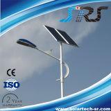 Das lâmpadas novas brancas puras do projeto do controlo automático luz de rua solar