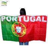 Preiswerte Polyester-Weltcup-Fußball-Ventilator Portugual Karosserien-Markierungsfahnen