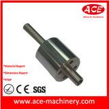 L'usinage CNC de la partie de l'arbre en acier