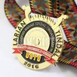 Médaille commémorative molle de New York Enemal en métal fait sur commande de promotion de l'exécution