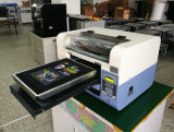 Mini impressora Flatbed, impressora de Digitas de matéria têxtil