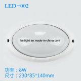 Heiße verkaufen8w imprägniern Licht der Wand-LED