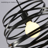 Luz decorativa travando moderna lâmpada para iluminação interior