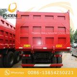 Lage Prijs Gebruikte HOWO 10 de Kipper van de Vrachtwagen van de Stortplaats van Wielen 6X4 met Goede Voorwaarde voor Afrika