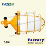 Luz fluorescente de suspensão industrial marinha da carga do Único-Bulbo Cgd2