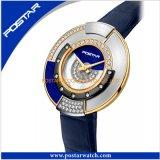 Relojes atractivos del diamante de la pulsera de reloj de señoras del precio de fábrica