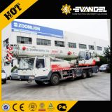 Zoomlion 55tonの荒い地勢トラッククレーン構築機械装置の持ち上がるクレーンRt55