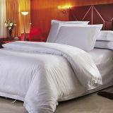 Fundamento branco por atacado do hotel de luxo de linho de base do jacquard do hotel do algodão