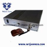 Jammer сотового телефона 5 антенн (DCS PHS 3G GSM CDMA)