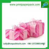 Bowknot atractivos envases de cartón Caja de regalo de navidad