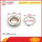 Jinziのハードウェアのアクセサリの靴レースの金属アイレット