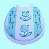 La impresión de asiento de inodoro suave de PVC para adultos