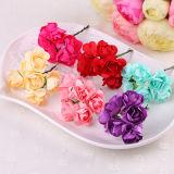 Suministro de parte de la flor de papel para la decoración de boda