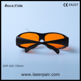 Excimer van 200540nm, Ultraviolet, de Groene Bril van de Veiligheid van de Laser van Laserpair