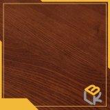 Papel impregnado melamina decorativa de madera roja del grano para los muebles, guardarropa del fabricante chino