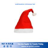 La Navidad en blanco de la sublimación adorna decoraciones del sombrero del regalo