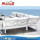 Mobilia esterna ricoperta del sofà dei tessuti del sofà arabo esterno di Hotsale del professionista 2018 Nizza