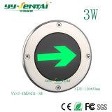 3W LED 지하 표시등